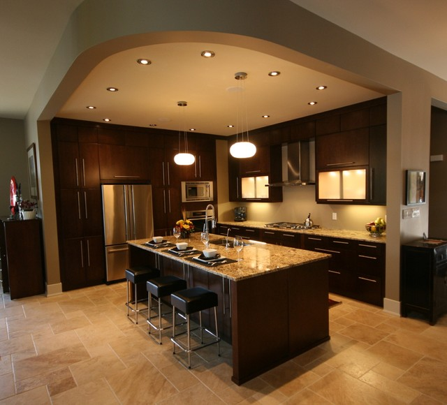 Barlow Cres contemporary-kitchen