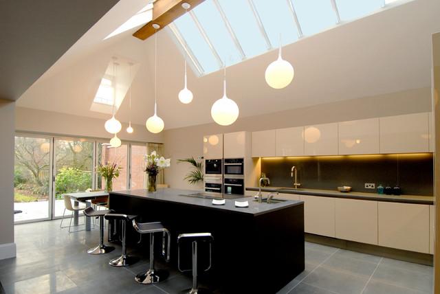 Barlows Road Harborne Contemporary Kitchen West