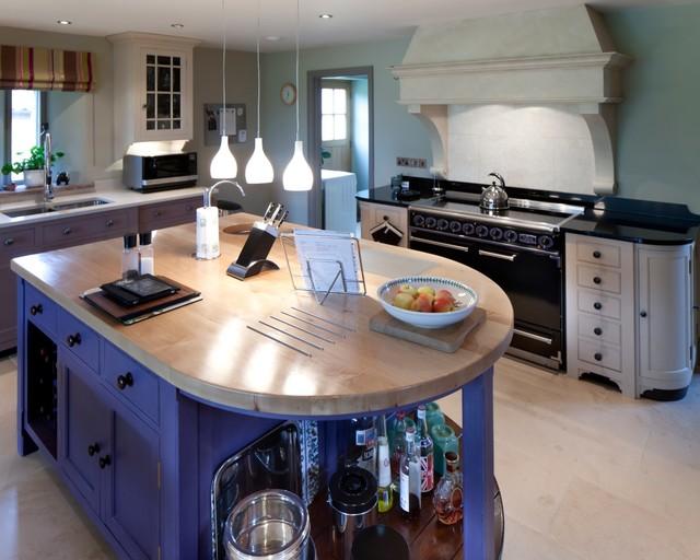 Barn Conversion, Gloucestershire transitional-kitchen