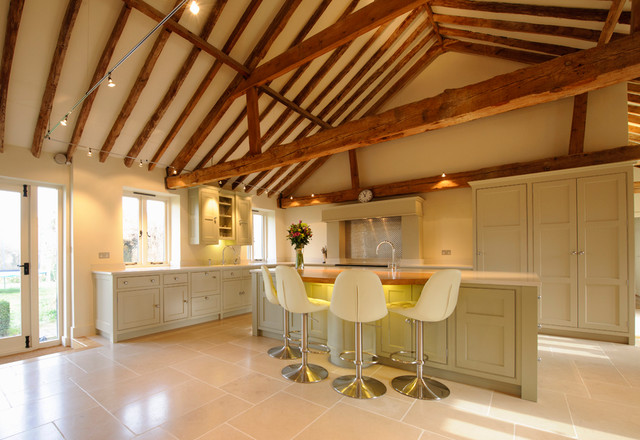 Barn Conversion Kitchen Contemporary Kitchen Part 26