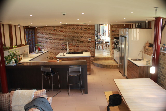 Barn Conversion Kitchen Eclectic Kitchen Part 34