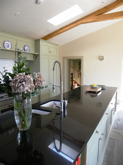 Barn Conversion, Manor Farm House, Glanvilles Wootton farmhouse-kitchen