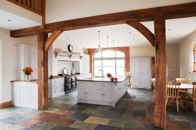 Barn Conversion  Sleaford Farmhouse Kitchen