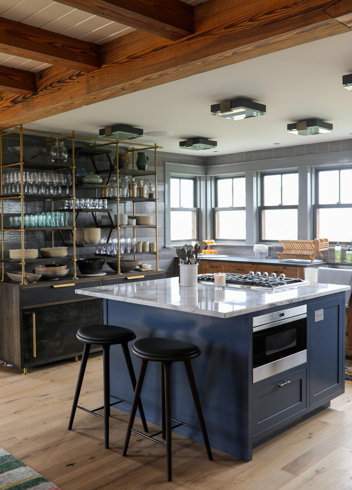 Barn House Farmhouse Kitchen Providence By Maple Hill Design Houzz