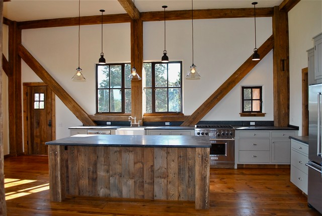 Barn Kitchen Traditional Kitchen Other Metro By