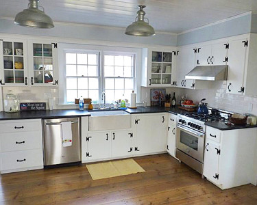 Barn Light Kitchens And Dining Rooms Contemporary Kitchen