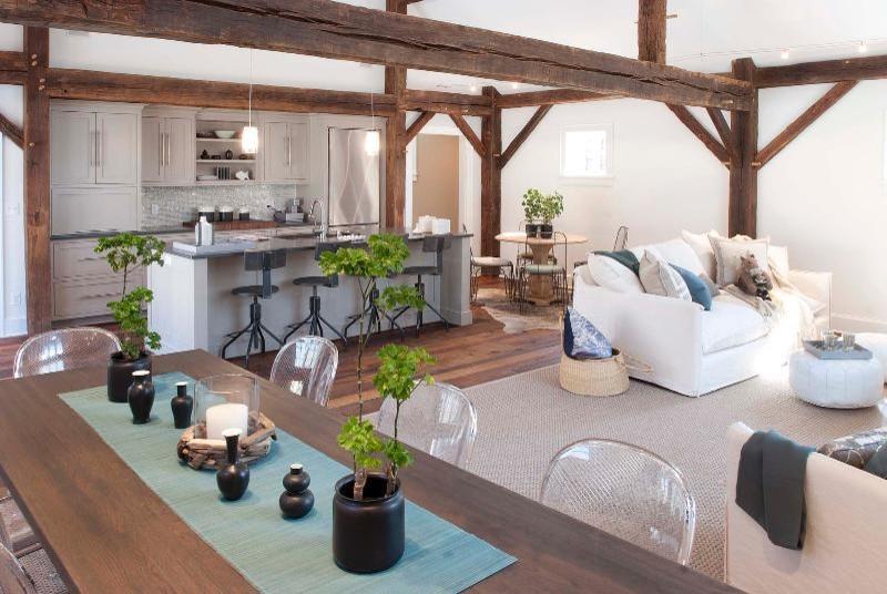 Cottage kitchen photo in New York