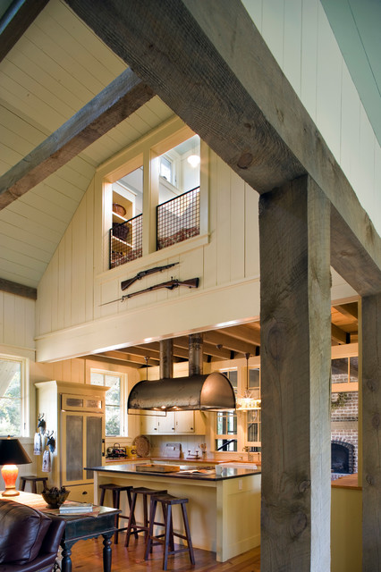 Barn Retreat rustic-kitchen