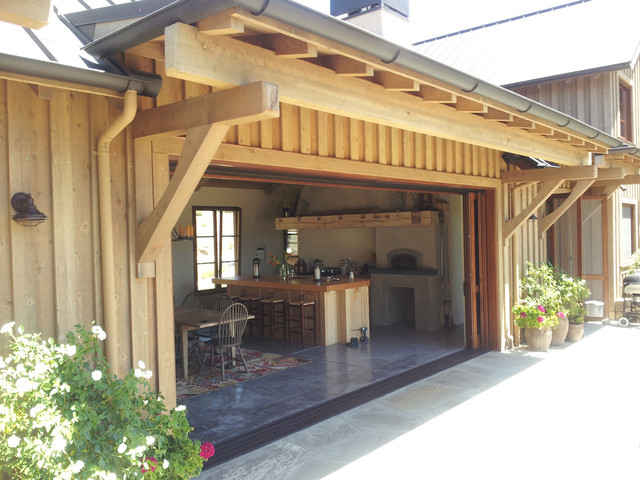 Barn Style House: Custom Windows and Doors - Traditional - Kitchen - other metro - by AMERICA ...