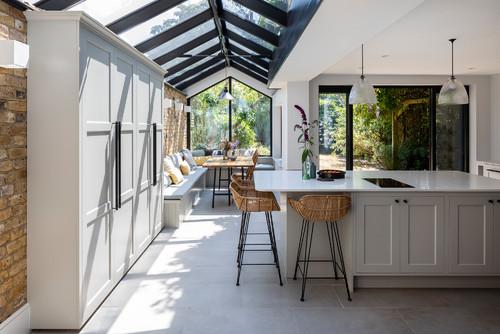 Brilliant 10 Banquette Seating Ideas For Your Kitchen Machost Co Dining Chair Design Ideas Machostcouk