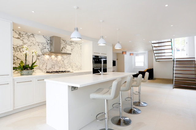 Barnes Townhouse contemporary-kitchen