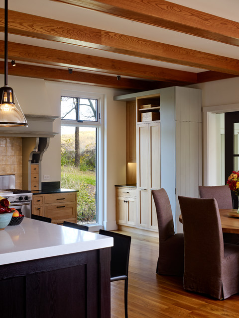 Barney and Nancy - Built to Our Philosophy . contemporary-kitchen