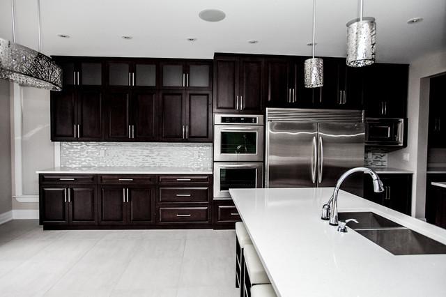 Barrhaven New Build contemporary-kitchen