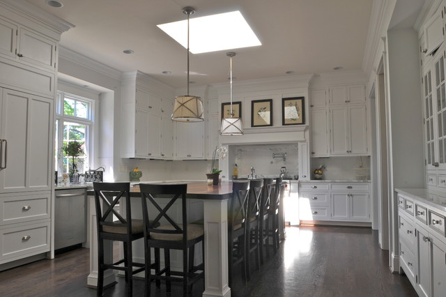 Cincinnati classic colonial traditional kitchen for Classic homes llc