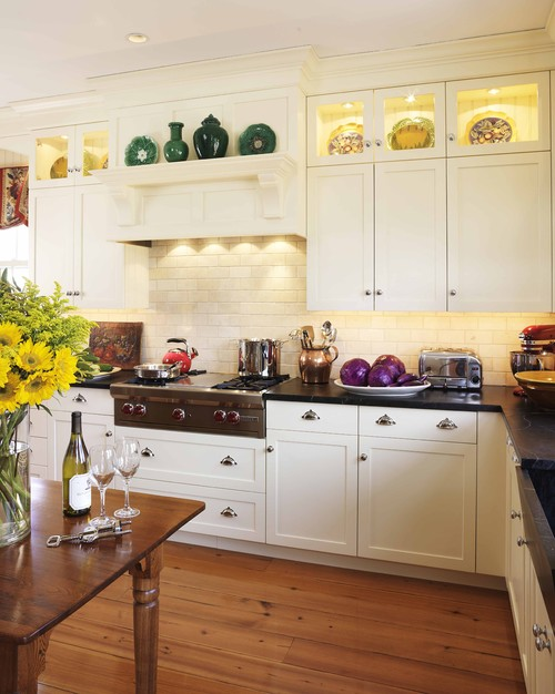 Can we do two upper wall cabinets like yours if we have an 8 ...