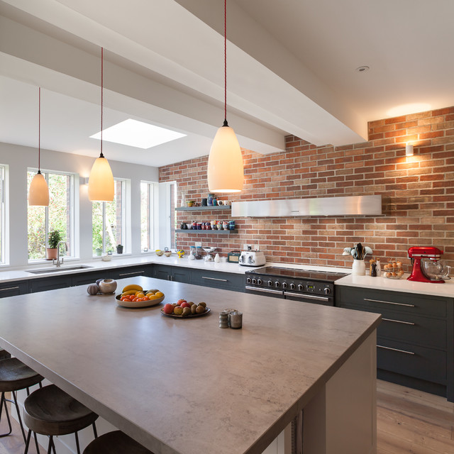 Barrow Road Contemporary Kitchen London By Mailen Design
