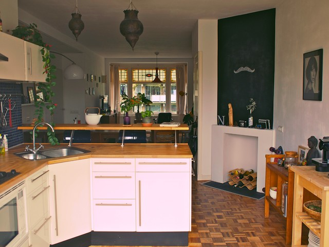 Bart-Jan's House modern-kitchen