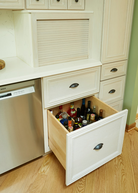Bartlett white kitchen extra storage for Extra kitchen storage