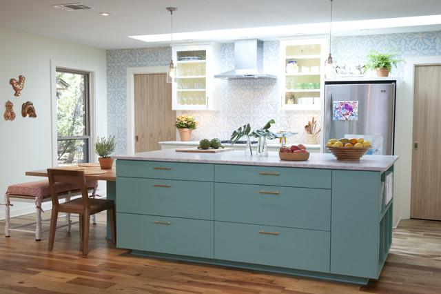 Barton Hills mediterranean-kitchen