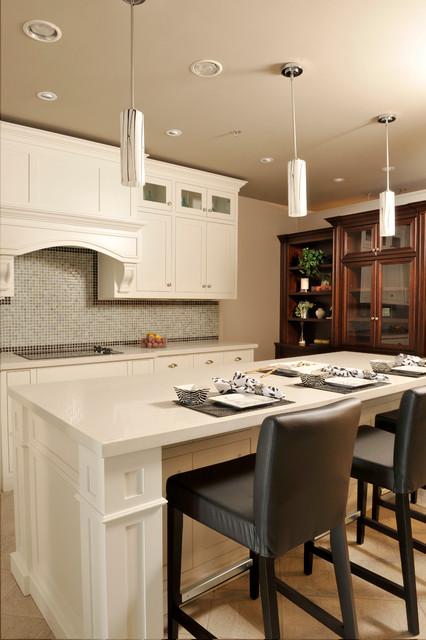 Barzotti Showroom Toronto ON - Transitional - Kitchen - toronto - by Barzotti Woodworking Ltd.