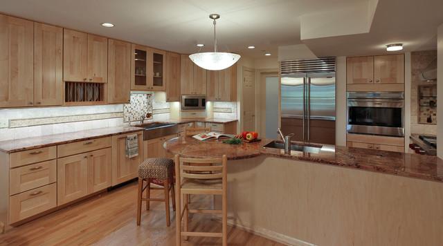 Basement apartment remodel contemporary kitchen dc for Kitchen design kingston