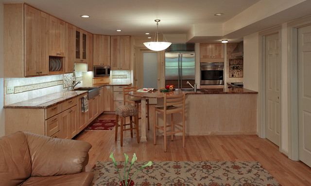 ... - Contemporary - Kitchen - dc metro - by Kingston Design Remodeling