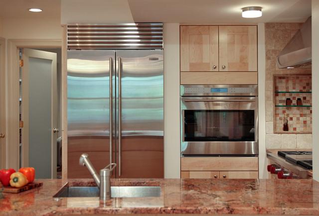 Basement Apartment Remodel contemporary-kitchen