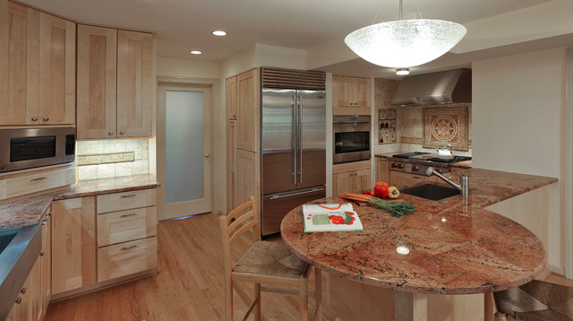 Basement apartment remodel contemporary kitchen dc for Rental kitchen ideas