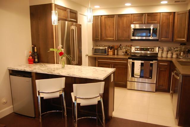 Basement Apartment - Contemporary - Kitchen - denver - by ...