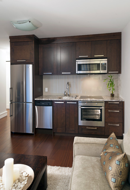 basement kitchen transitional kitchen vancouver by ForKitchenette Layout