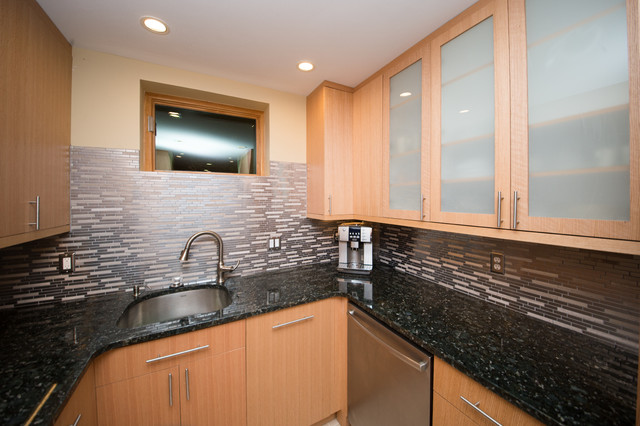 Basement Remodeling Rockville Md Contemporary Kitchen Dc Metro By