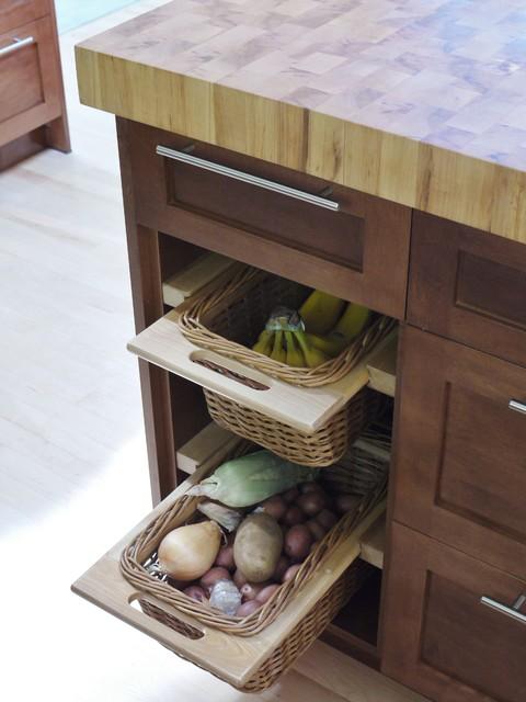 Basket Drawers traditional-kitchen