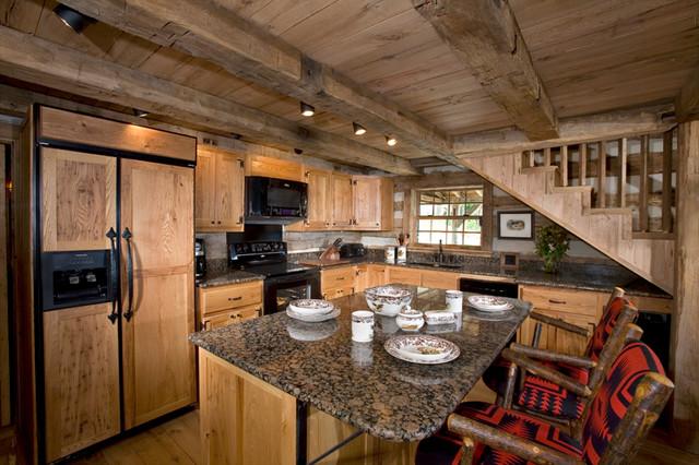 Bath County Cabin traditional-kitchen