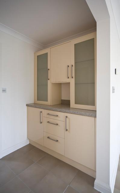 Bath Lodge, Worcester, England contemporary-kitchen