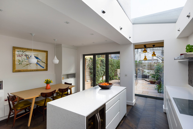 Battersea House contemporary-kitchen