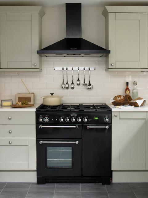 Battersea, Victorian Terraced House transitional-kitchen