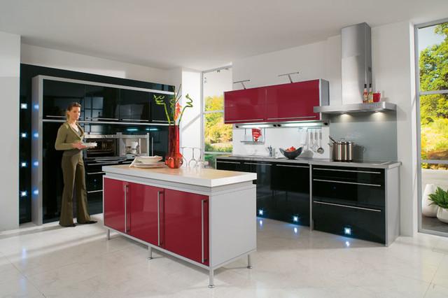 bauformat kitchens modern kitchen los angeles by. Black Bedroom Furniture Sets. Home Design Ideas