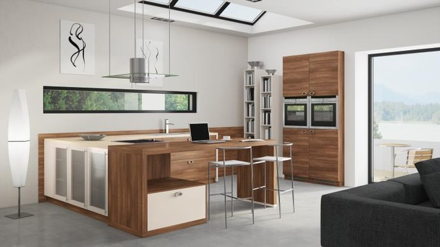 Bauformat Kitchens Cube 130 Bali 143 Modern Kitchen Los Angeles By Bauformat