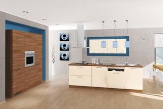 Bauformat Kitchens Cube 130 Bastia 373 Bali 143 Modern