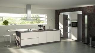 Bauformat Kitchens Cube 130 Capri 292 Modern Kitchen Los