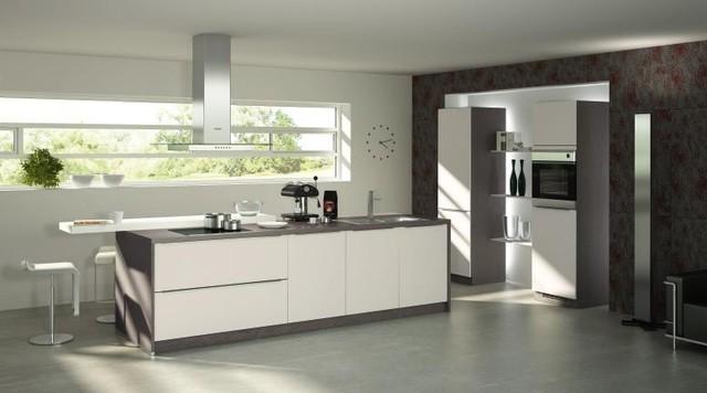 bauformat kitchens cube 130 capri 292 modern kitchen. Black Bedroom Furniture Sets. Home Design Ideas