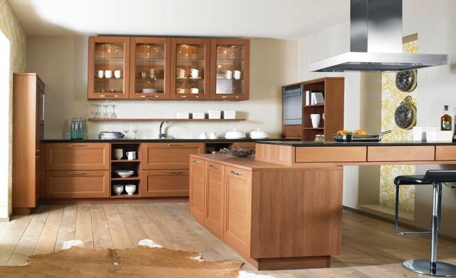 Bauformat Kitchens (Cube-Country) traditional-kitchen