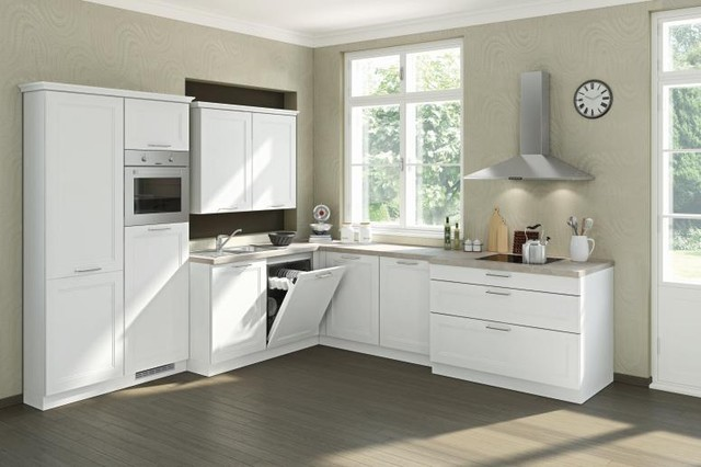 Bauformat Kitchens (Cube-Country) contemporary-kitchen