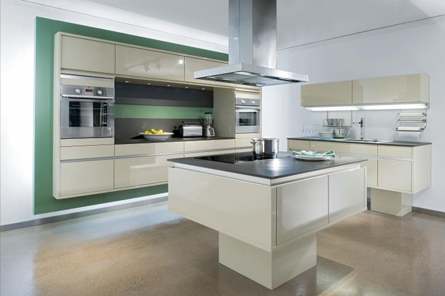 Bauformat Kitchens (Cube-Purista) modern-kitchen