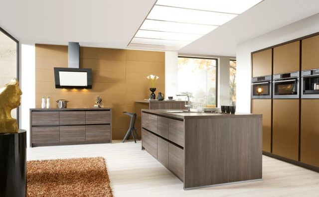 Bauformat Kitchens Cube Purista Modern Kitchen Los