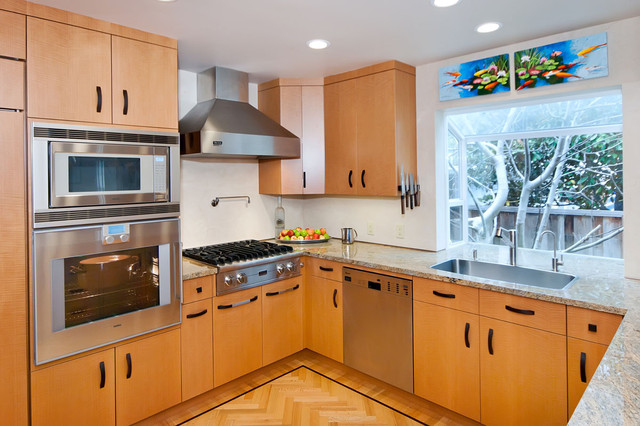 Bay area kitchen design modern kitchen san francisco for Kitchen remodel bay area
