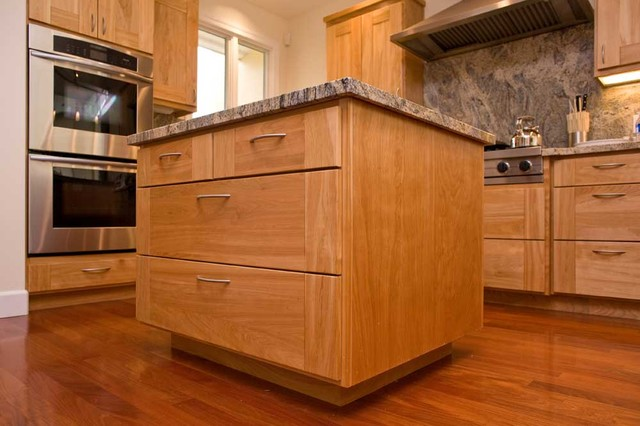 Bay Area Kitchen Design Custom Cabinet Island