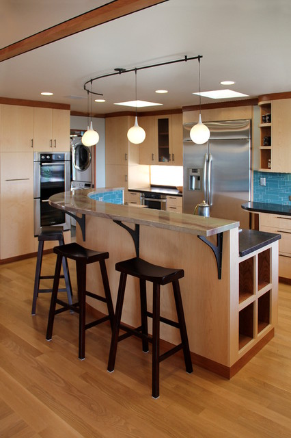 Bay Area Modern - Whole house remodel contemporary-kitchen