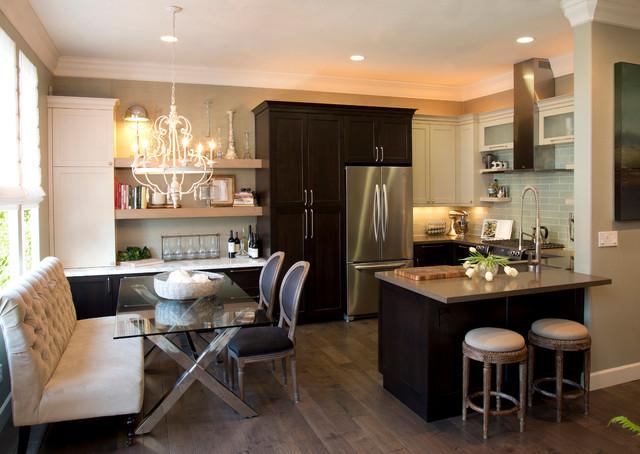 Bay area remodel transitional kitchen san francisco for Kitchen remodel bay area