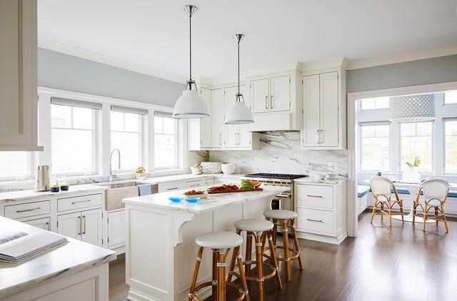 Bay Front Beach House Mantoloking New Jersey Coastal Kitchen York By J Patryce Design Houzz